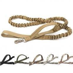 Tactical Bungee Dog Leash 2 Handle-knewpets